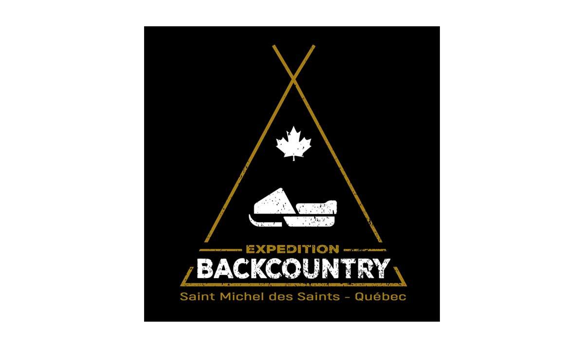 Expédition Backcountry Québec, un logo créé par l'agence-i communication à Gignac