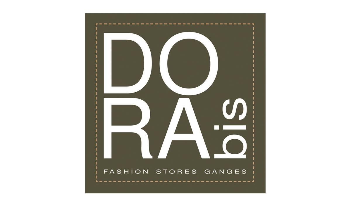 Dora Bis, un logo créé par l'agence-i communication à Gignac