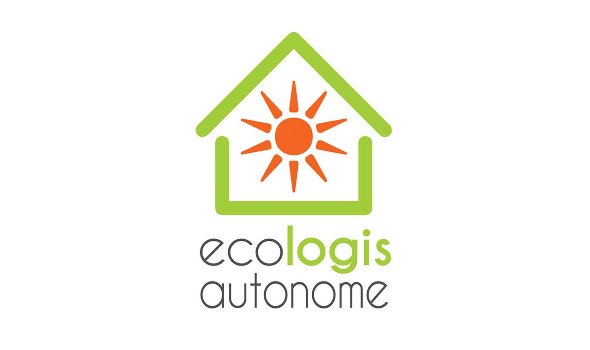 Ecologis autonome, un logo créé par l'agence-i communication à Gignac