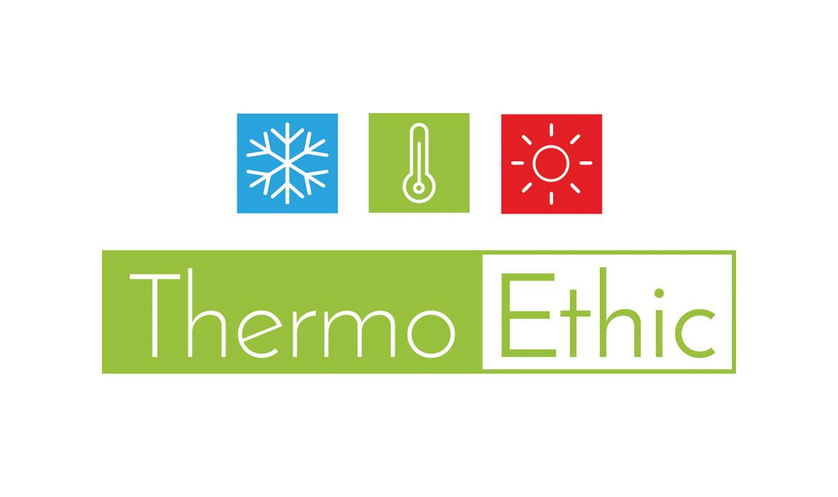 Thermoethic, un logo créé par l'agence-i communication à Gignac Hérault