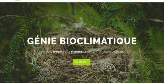 Ecologis autonome, un site internet créé par l'agence-i communication à Gignac