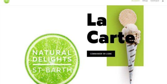 NaturalDelights, un site e-commerce créé par l'agence-i communication à Gignac